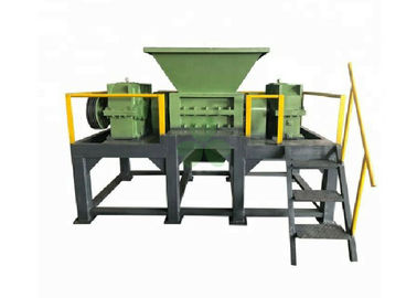 China High Efficiency Tire Recycling Plant Waste Tyre Shredding Machine Double Shaft supplier