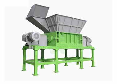 China Plastic/ Barrel / Glass / Paper Four Shaft Shredder Machine 22×2	Kw Power supplier