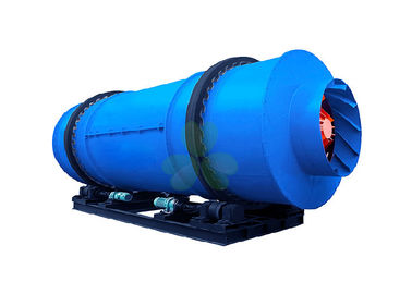 China 22kW Rotary Drum Dryers For Wood Chips Atomizer Type 1--5r / Min Rotary Speed supplier