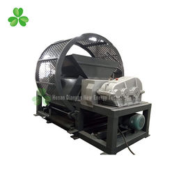 China Black Color Tire Crushing Machine High Efficiency 1 Ton Per Hour Capacity supplier