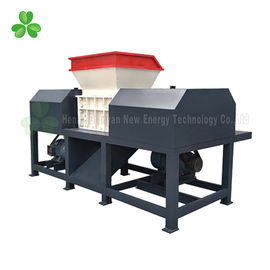 China High Output Wood Pallet Shredder Double Shaft 55Crsi Blade Material supplier