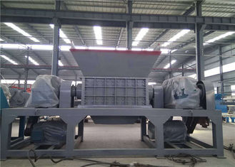 China Automatic Industrial Scrap Metal Shredder 5 Tons Capacity H13 Blade Material supplier