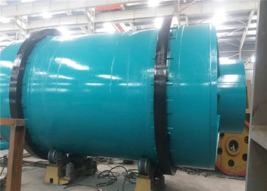 China Three Drum Rotary Drum Dryer Mineral Dryer Plant 1500 Shell Diameter supplier