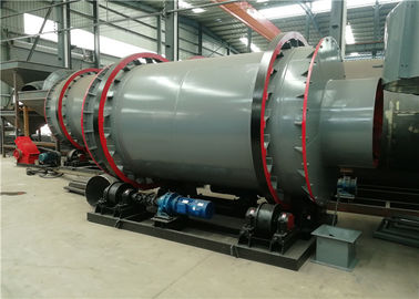 China Sludge Rotary Triple Drum Dryer Rotary Industrial Small Size For Building Materials supplier