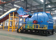 Large Size Hammer Crusher Machine , Scrap Metal Recycling Equipment Low Noise