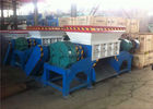 High Capacity Rubber Tyre Shredding Machine / Industrial Tyre Shredding Machine