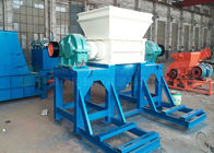 40 Tons Capacity Twin Shaft Plastic Shredder E Waste Scrap Metal Recycling Machine
