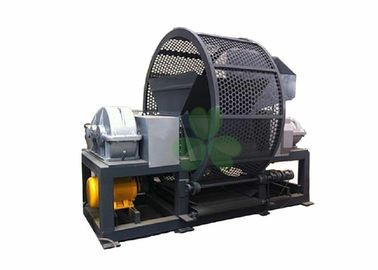 High Performance Waste Tire Shredder Waste Tire Recycling Machine 75×2kw Power