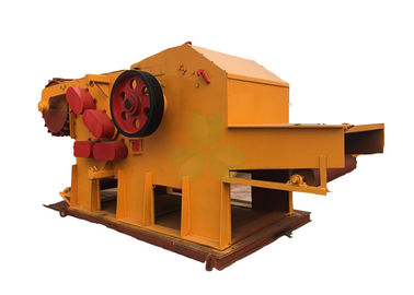 China Large Capacity Mobile Wood Chipper Machine To Make Sawdust Color Optional distributor