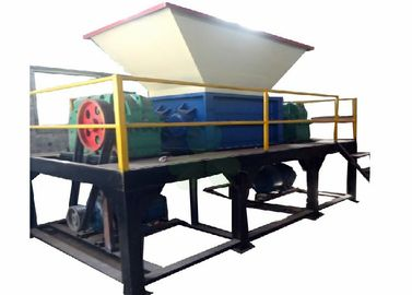 China Large Plastic Industrial Shredder Machine , Plastic Recycling Shredder 22×2kw factory