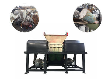 China Automatic Four Shaft Shredder Machine For Coconut Fiber / Artificial Leather distributor