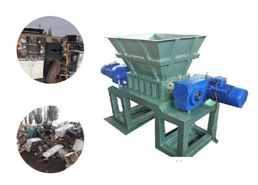 China Double Shaft Industrial Cardboard Shredder Machine / Cardboard Crusher Machine 18 Ton factory