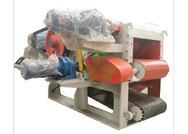 China Heavy Duty Mobile Veneer Wood Crusher Machine 1400*12000mm Discharge Conveying distributor