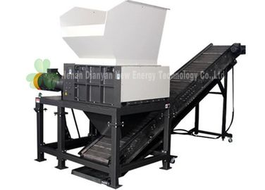 High Capacity Double Shaft Shredder Machine / Environmental Friendly Cardboard Shredder