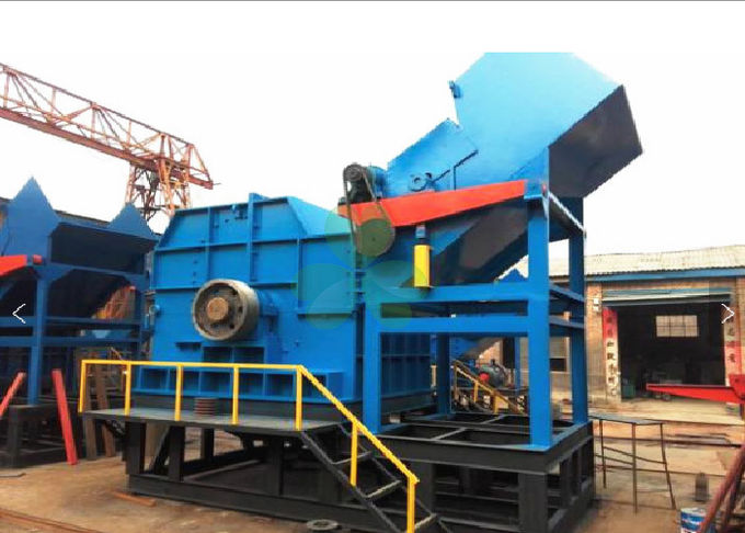 High Efficiency Metal Shredding Equipment Used In Steel Plants Power Saving