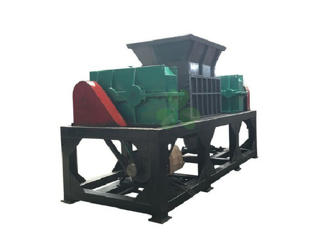 High Efficiency Tire Recycling Plant Waste Tyre Shredding Machine Double Shaft