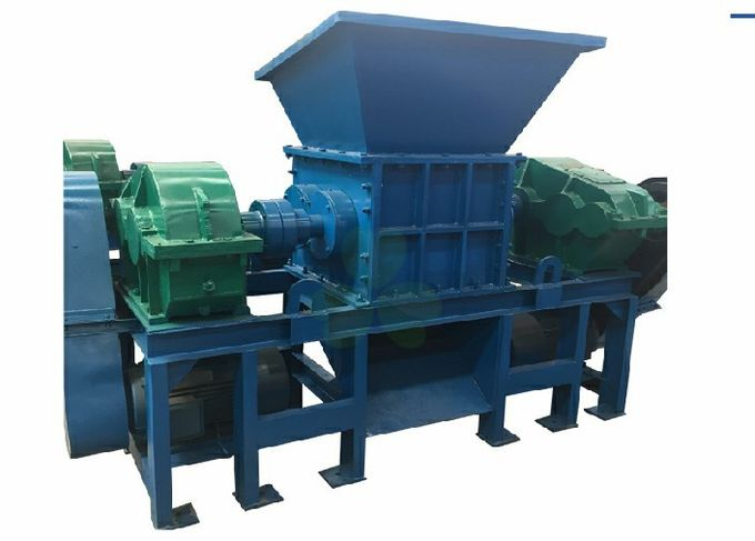 Heavy Duty Industrial Shredder Machine Plastic Recycling Equipment High Output