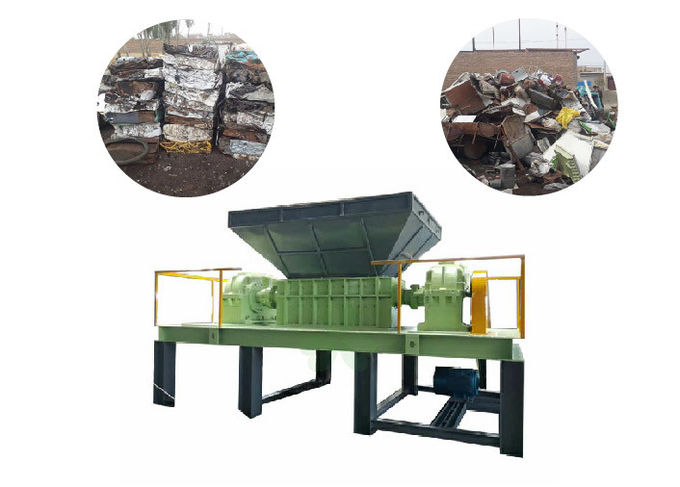 Commercial / Industrial Four Shaft Shredder Machine For Plastic Pail / Frame