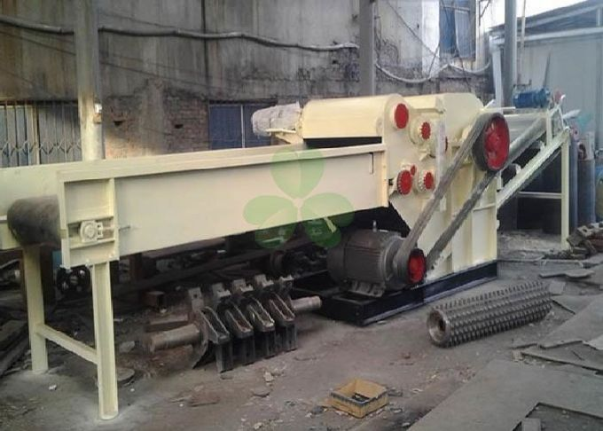 Multifunctional Wood Crusher Machine 40-60 M³/H Capacity With CE Approval
